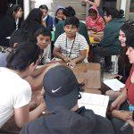 Niños y niñas reunidos en la UCN, exponen sentimientos generados por el estallido social